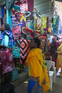 Rwandese lappen stof