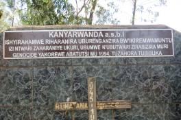 Herdenkingsplaats journalisten Nyanza Kicukiro