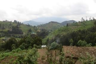 Heuvels in Rwanda